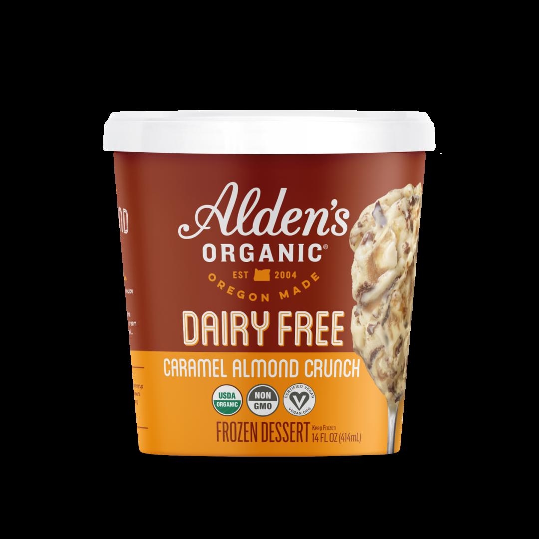 Dairy-Free Organic Caramel Almond Crunch
