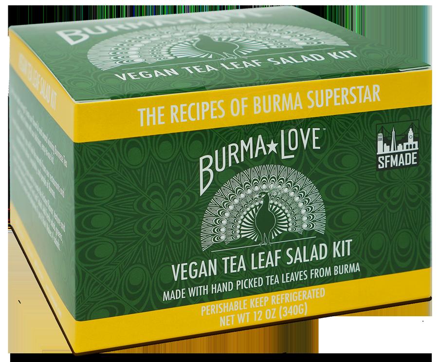 Vegan Fermented Tea Leaf Salad Kit