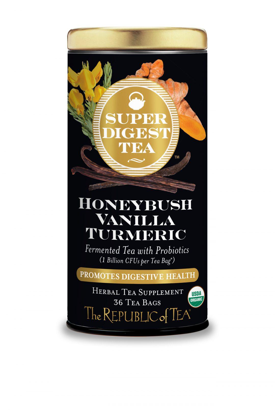 Organic Honeybush Vanilla Turmeric SuperDigest Tea