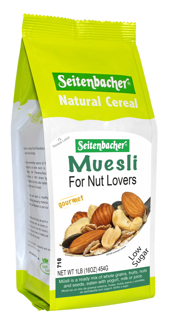 Seitenbacher Muesli For Nut Lovers