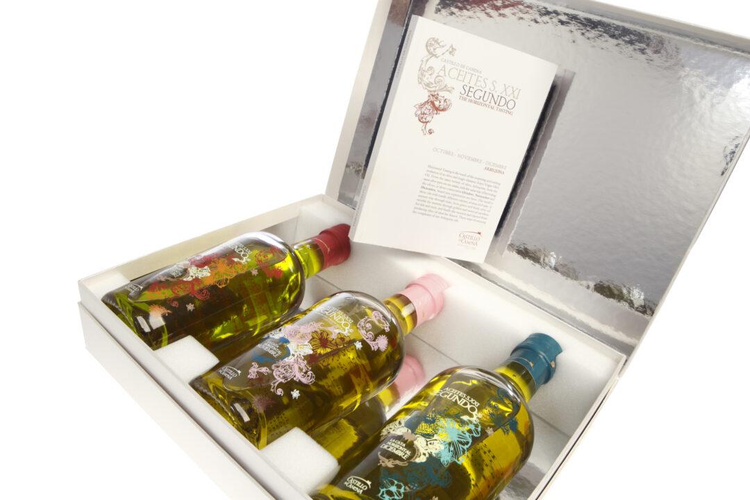 Horizontal Olive Oil Tasting Set