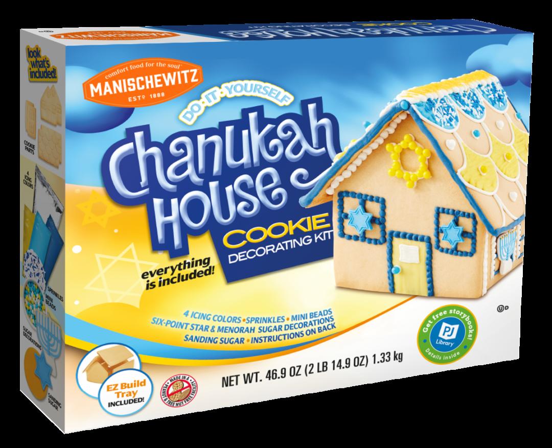 Manischewitz Chanukah House Cookie Decorating Kit