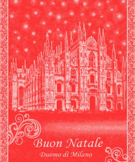 Duomo Holiday Tea Towel