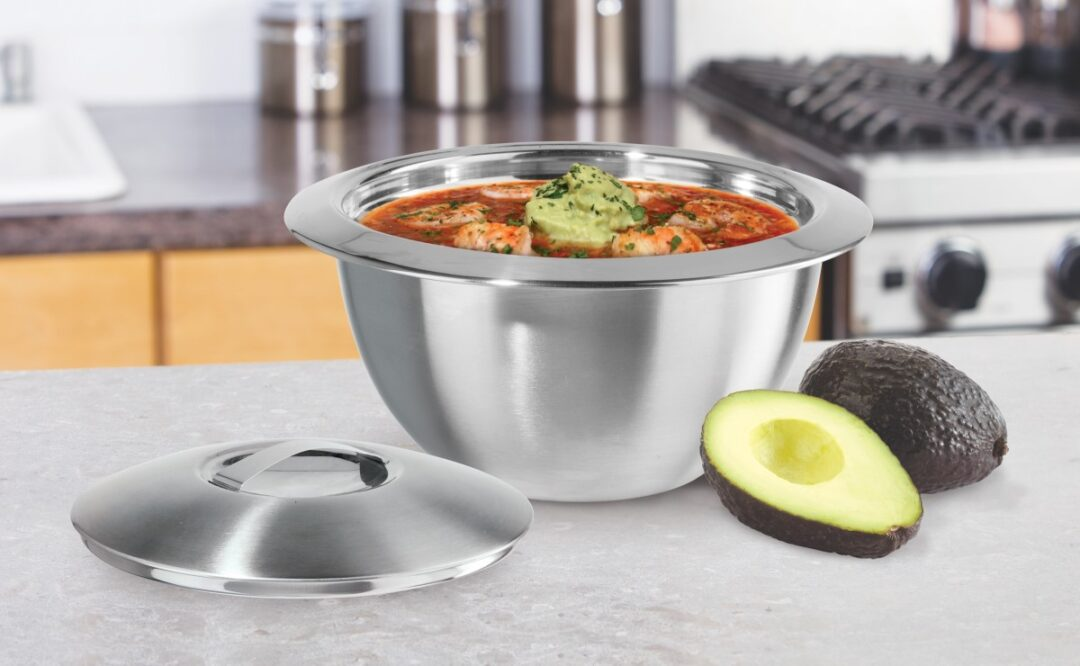 Stainless Steel Thermal Serving Bowls