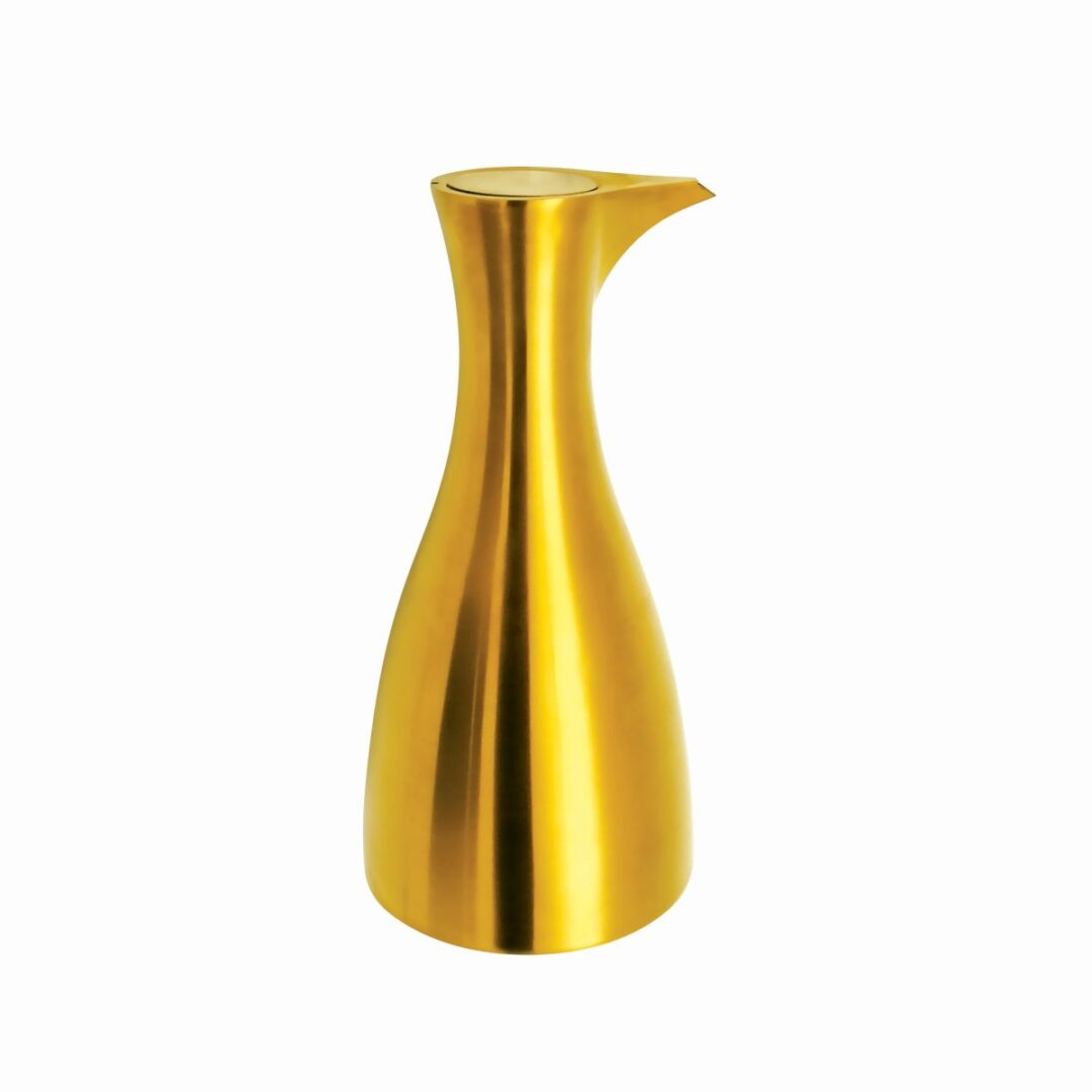 Satin Gold Olive Oil Dispenser