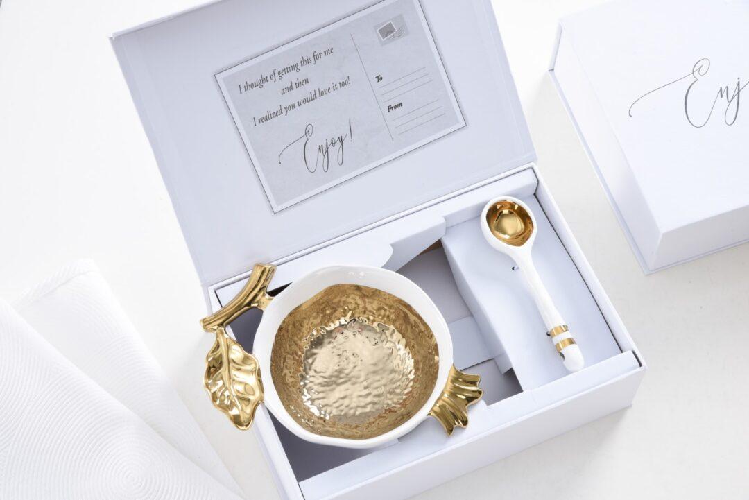 Pomegranate Gold Set