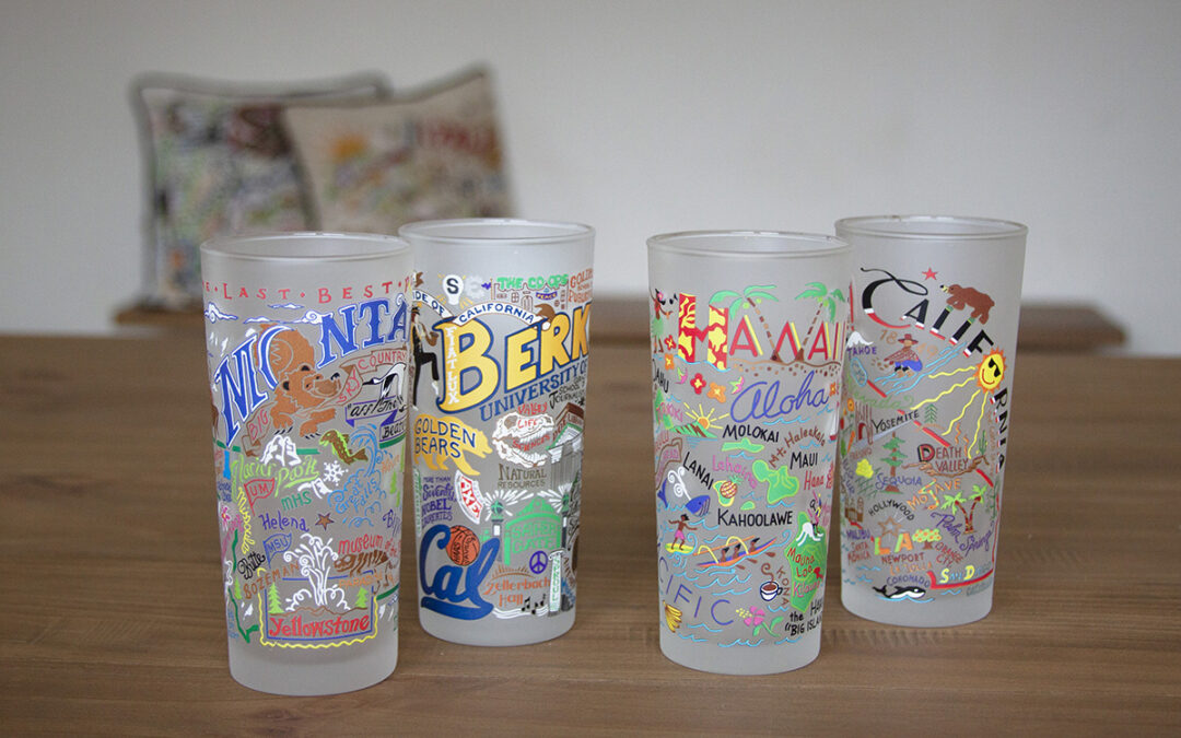 Geography Collection Glasses