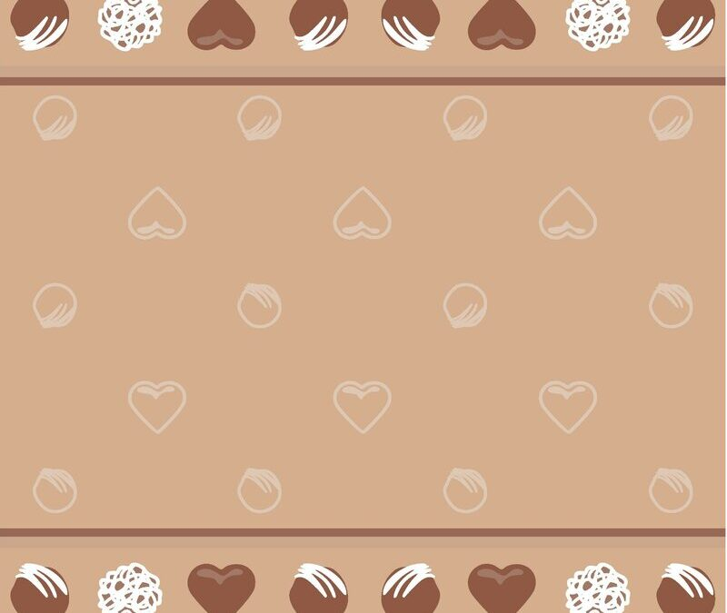 Chocolates Jacquard Tea Towel