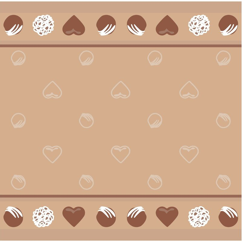 Chocolates Jacquard Tea Towel