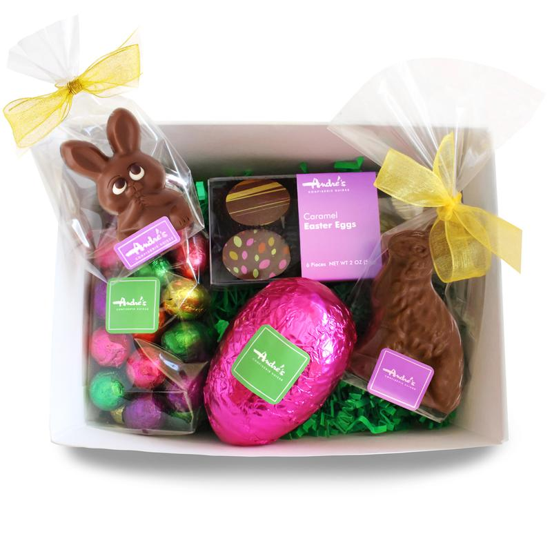 Bunny + Egg Hunt Gift Basket