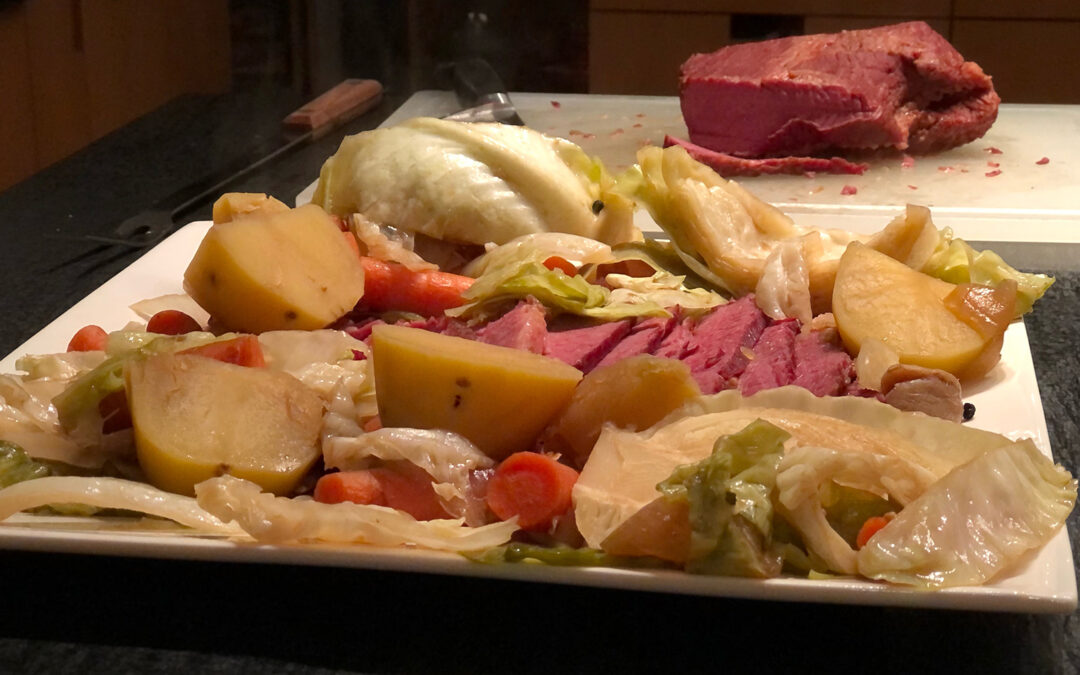 St. Patrick's Easy Corned Beef and Cabbage