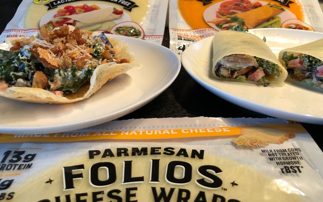 Folios Cheese Wraps: Parmesan Caesar Salad Wrap