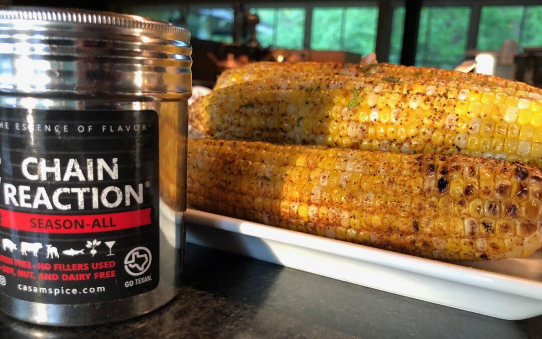 Casa M. Spice – Grilled Sweet Corn