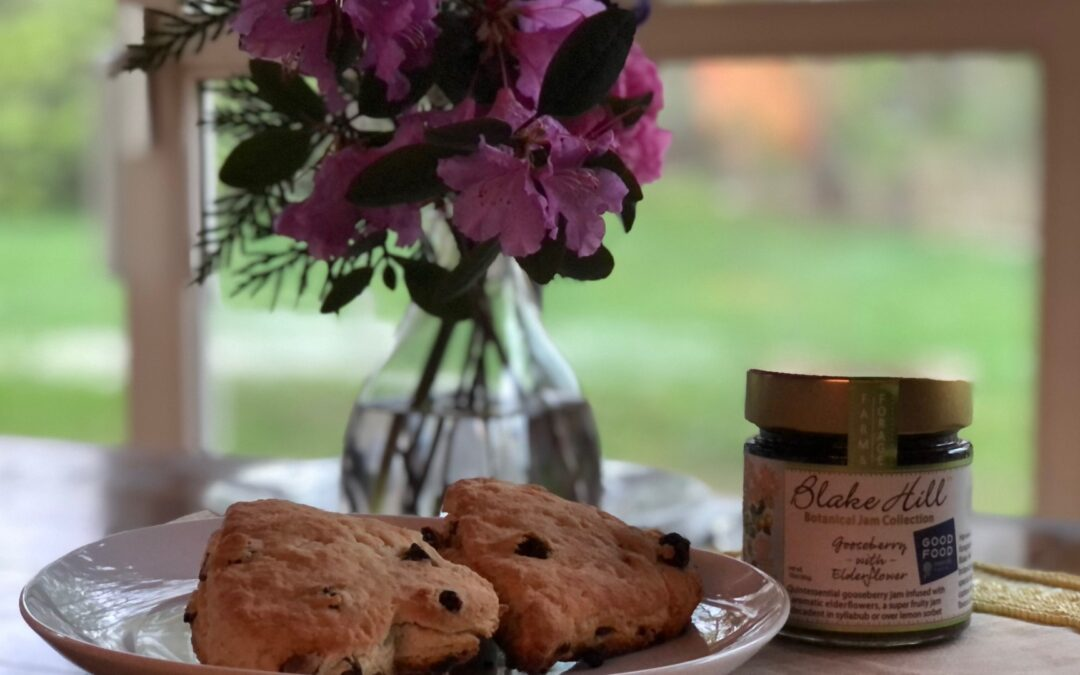 Mother's Day Scones and Citrus Curd